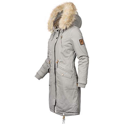 big sale fa28d 8e3f7 Navahoo Damen Wintermantel Winterparka Kin-Joo 6 Farben XS ...