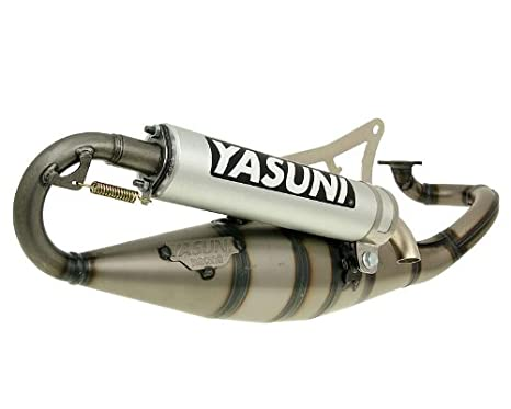 Auspuff Yasuni Scooter R Aluminium f/ür Yamaha Aerox 50 Cat. 03-12