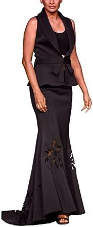 Elegante Negro Falda Juego de Mandira Wirk/Indian funda de ...