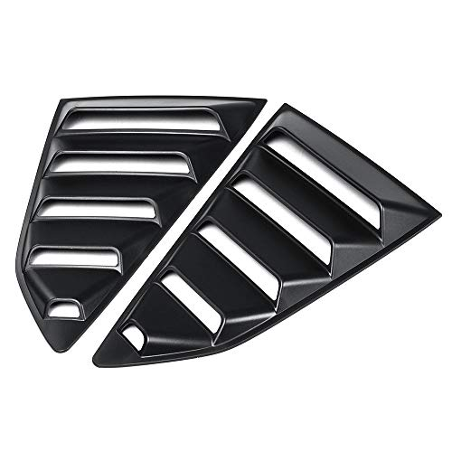 Duoying Auto Louver Cover Car Louver Cover Creative Rear Side Window 1/4 Quarter Accessories Car Styling for Chevy Camaro -