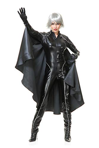 Charades Women's Thunder Super Hero W/Cape, As Sample, X-Small -