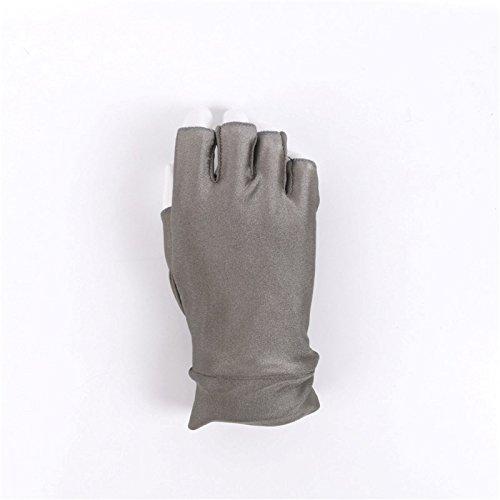 釣りフライフィッシングSun手袋紫外線対策Moisture Wicking指なし通気性   B075Y4QVS9