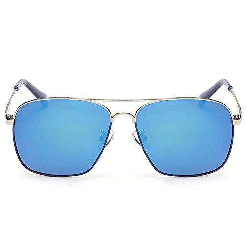 IPOLAR GSG800030C1 New Style Resin Polarized Lens Retro Metal Frames - Chalet Sport Sunglasses