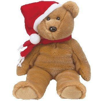 TY Holiday 97 Bear Beanie Buddy 14  by Ty