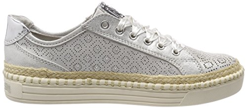23760 Argent Basses Femme Tozzi Sneakers silver Marco XwxT58fW
