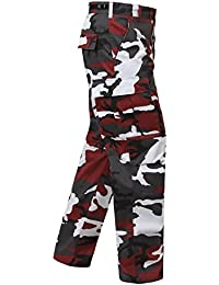 UF BDU Pant Red Camouflage, Small