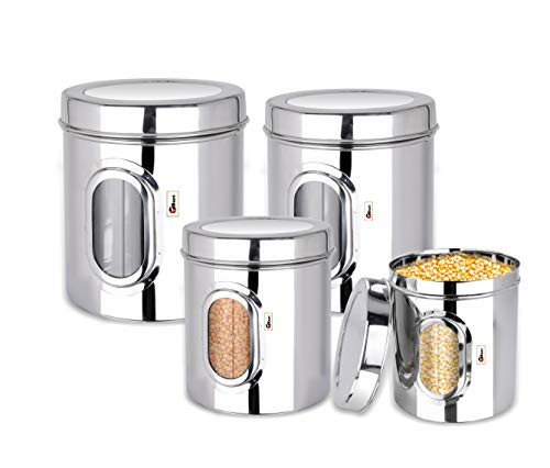 eBun-Stainless-Steel-Container-4-Pieces-Silver