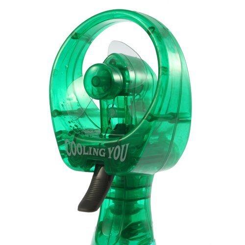 Hand Held Water Misting Fan- Green