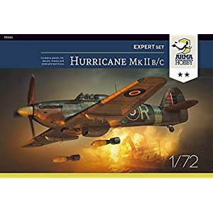 Arma Hobby 1/72 Scale Hurricane Mk II B/C Expert Set - Plastic Model Building Kit # 70042 2