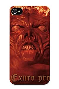 604624f1794 Tough Samsung Galxy S4 I9500/I9502/ Samsung Galxy S4 I9500/I9502 (dark Funeral Black Metal Heavy Hard Rock Band Bands Group Groups Dark Demon Fire Occult Satan ) / New Year's Day's Gift