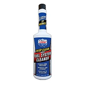 Lucas Oil 10669 Deep Clean Fuel System Cleaner - 5.25 oz.