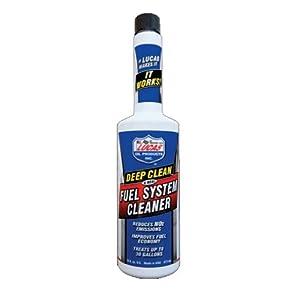 Lucas Oil 10669 Deep Clean Fuel System Cleaner - 5.25 oz.