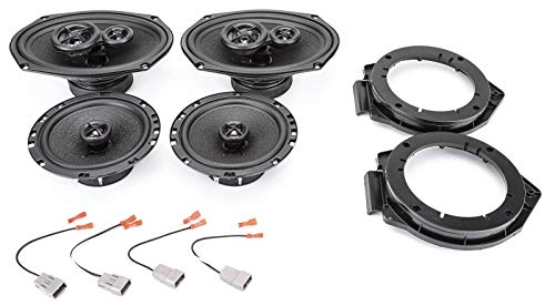 (Skar Audio Complete Premium Factory Replacement Speaker Package - Fits 2006-2012 Chevrolet HHR)