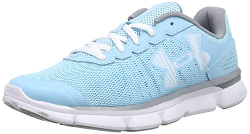 W Under UK Speed Swift Micro Course de Sky Armour Chaussures Femme Blue UA G Gris Bleu wwqrHEa