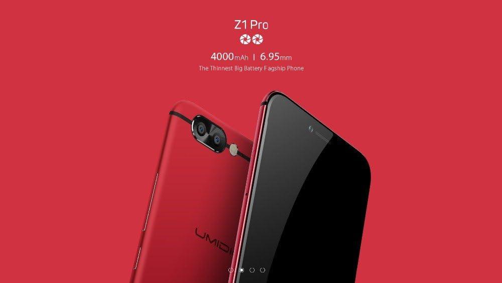 UMIDIGI Z1 PRO - Ultra fino (6.95mm) android 7.0 smartphone, 5.5 ...