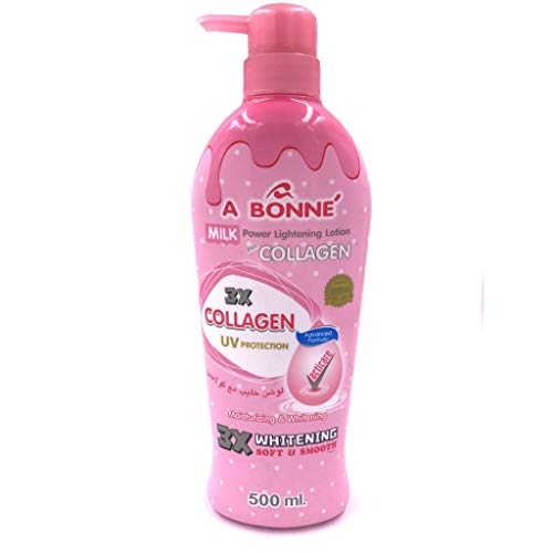 A Bonne Miracle Milk Power Lightenning Collagen Lotion 500ml Smooth Soft Skin ()