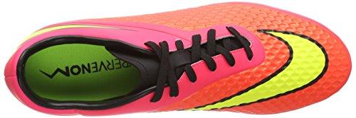 NikeHYPERVENOM Phelon AG - zapatillas de fútbol hombre rojo - Rot (Brght Crmsn/Vlt-Hypr Pnch-Blck 690)