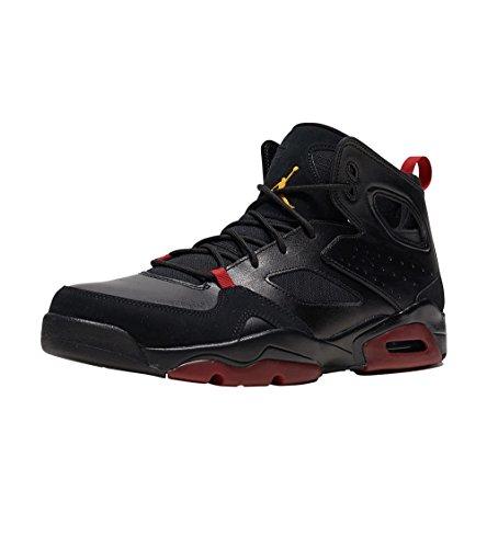 Jordan Mens FLTCLB 91 Black Dandelion Varsity RED Size 12
