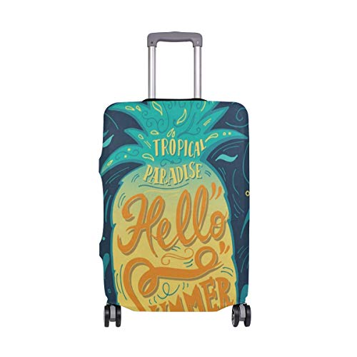 - Suitcase Cover Pineapple Tropical Paradise Luggage Cover Travel Case Bag Protector for Kid Girls