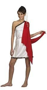 Lucida - Disfraz de diosa romana para mujer