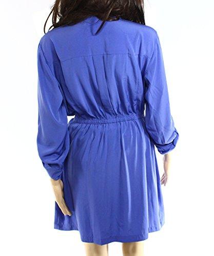 Alfani Donne Collare Maniche Shirtdress Scheda Blu ApPArTqxWw