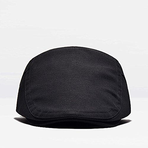 2 Pack Men's Cotton Flat Cap Ivy Gatsby Newsboy Hunting Hat