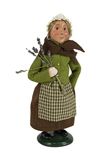 Byers' Choice Pilgrim Girl Caroler Figurine from The Thanksgiving Collection #5013C (New - Byers Girl Choice