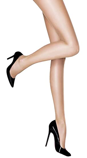 ef04767c99913 Pretty Polly Smooth Tights (1 Pair Pack, XL Barely Black): Amazon.co ...