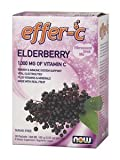 Effer-C Elderberry Sugar Free with BetterStevia and Xylitol, 30 Packets (Pack of 4)