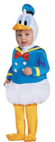 BESTPR1CE Toddler Halloween Costume- Donald Duck Prestige Toddler Costume 12-18 Months ()