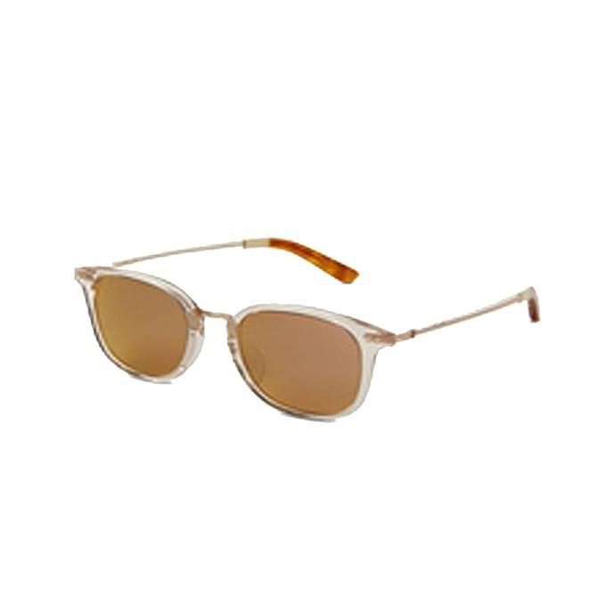 Toms 10008797 gafas de sol redondas de un marco blanco ...