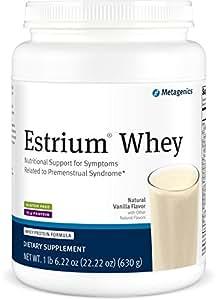 Metagenics - Estrium Whey, Natural Vanilla Flavor 22.5 oz Powder