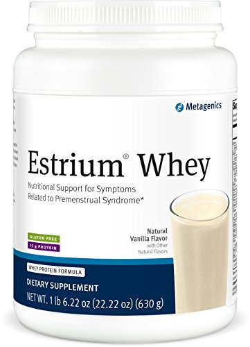 Metagenics – Estrium Whey, Natural Vanilla Flavor 22.5 oz Powder For Sale