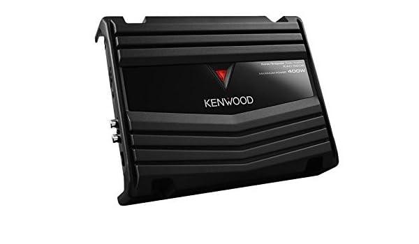 Performance Series Kenwood KAC-5206 400W Max 2 canales clase AB Amplificador de coches, modelo: KAC-5206: Amazon.es: Electrónica