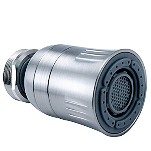 Swivel Aerator For Kitchen Faucet: Niagara Conservation RN3126P-BN 1.5 Gpm Swivel Dual Spray