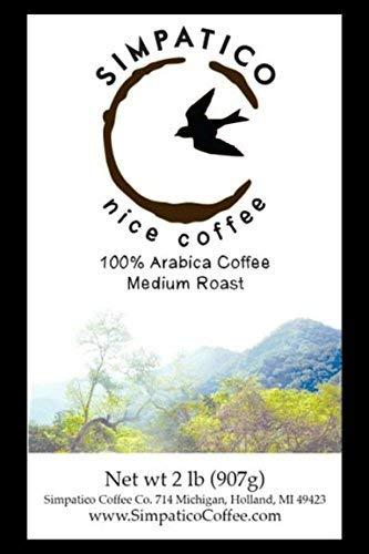 Simpatico Low Acid Coffee - Regular - Dark - Ground (2 pound bag)