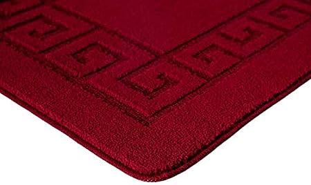 Beige, 50 X 80 CM GonZalo GraCia Rocco Area Rugs For Home Living Room Non Slip Carpet Hallway Runner