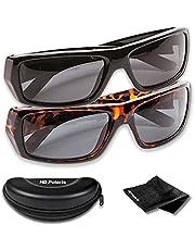 HD Polaris Polarized Sunglasses, 2 pack