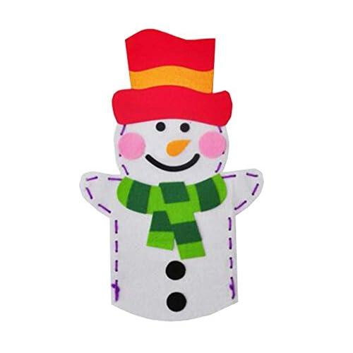 Faites vos propres marionnettes - Jouet de marionnettes à main en tissu - Fabrication de marionnettes DIY, A15