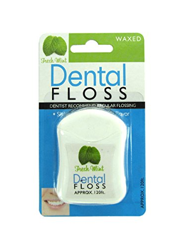 Fresh mint dental floss-Package Quantity,96
