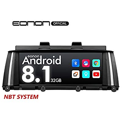 2020 Car Stereo,Eonon Android 8.1 Car Radio with 8.8 inch IPS Display Screen Applicable to BMW X3 F25/X4 F26(2014-2016) NBT Compatible with iDrive System Head Unit- GA9205NB: Electronics