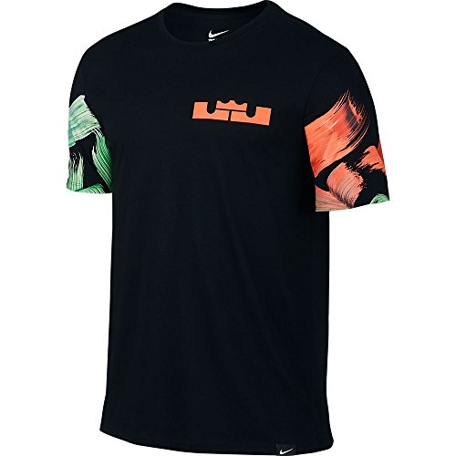 new products a69f2 90914 LeBron Easter NBA Mens T-Shirt (Black Multi Color) 808641-010 (L) - Buy  Online in UAE.   Sports Apparel Products in the UAE - See Prices, Reviews  and Free ...