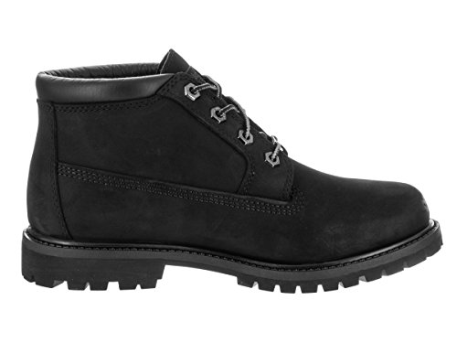 Timberland Womens Nellie Double Waterproof Ankle Boot Black/Nubuck YnNEvz5