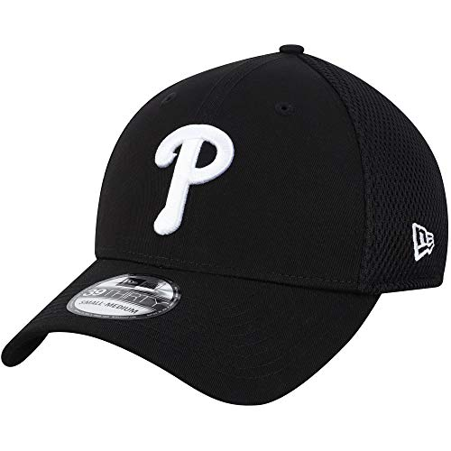 New Era Authentic Philadelphia Phillies Black Neo 39THIRTY Flex Hat – DiZiSports Store