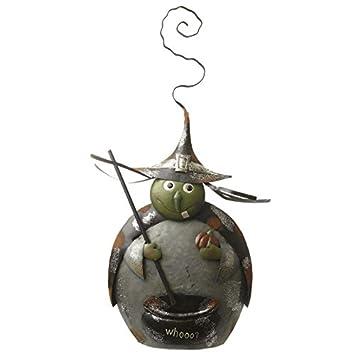 En Métal Halloween Chaudron De Sorcière Avec 65 Cm Amazonfr