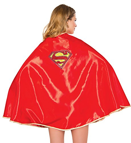 Womens Halloween Costume- Supergirl 30-In Cape Adult Costume