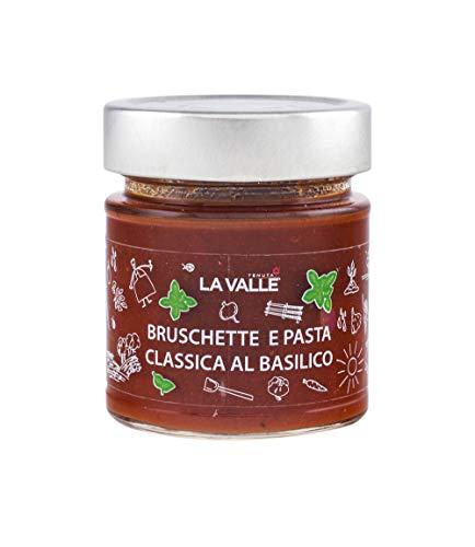 Bruschette en pasta, klassiek, van basilicum, houdt La Valle 190 g, verpakking van 6 stuks