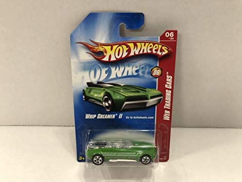 Whip Creamer II (Green paint) 06 of 24 Web Trading 2008 Hot Wheels diecast car No. 082