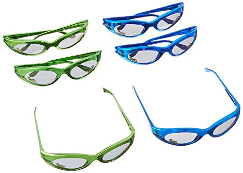 Totally Tubular Teenage Mutant Ninja Turtles Party Sporty Sun Glasses Favours, Plastic, 1