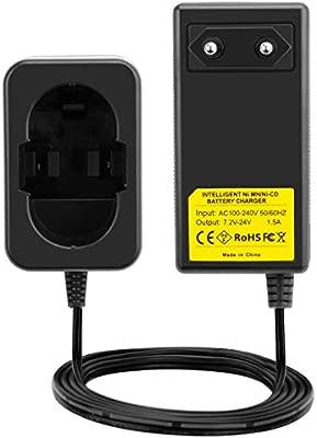 Joiry Cargador para Bosch 7,2V 9,6V 12V 14,4V 18V 24V Ni-MH ...